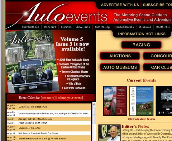 Auto Events Screenshot